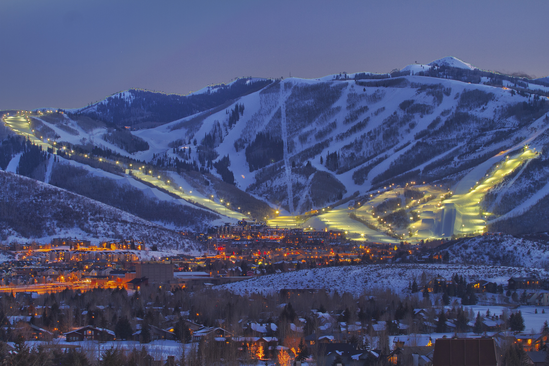 The mountain has it all! PC: Park City