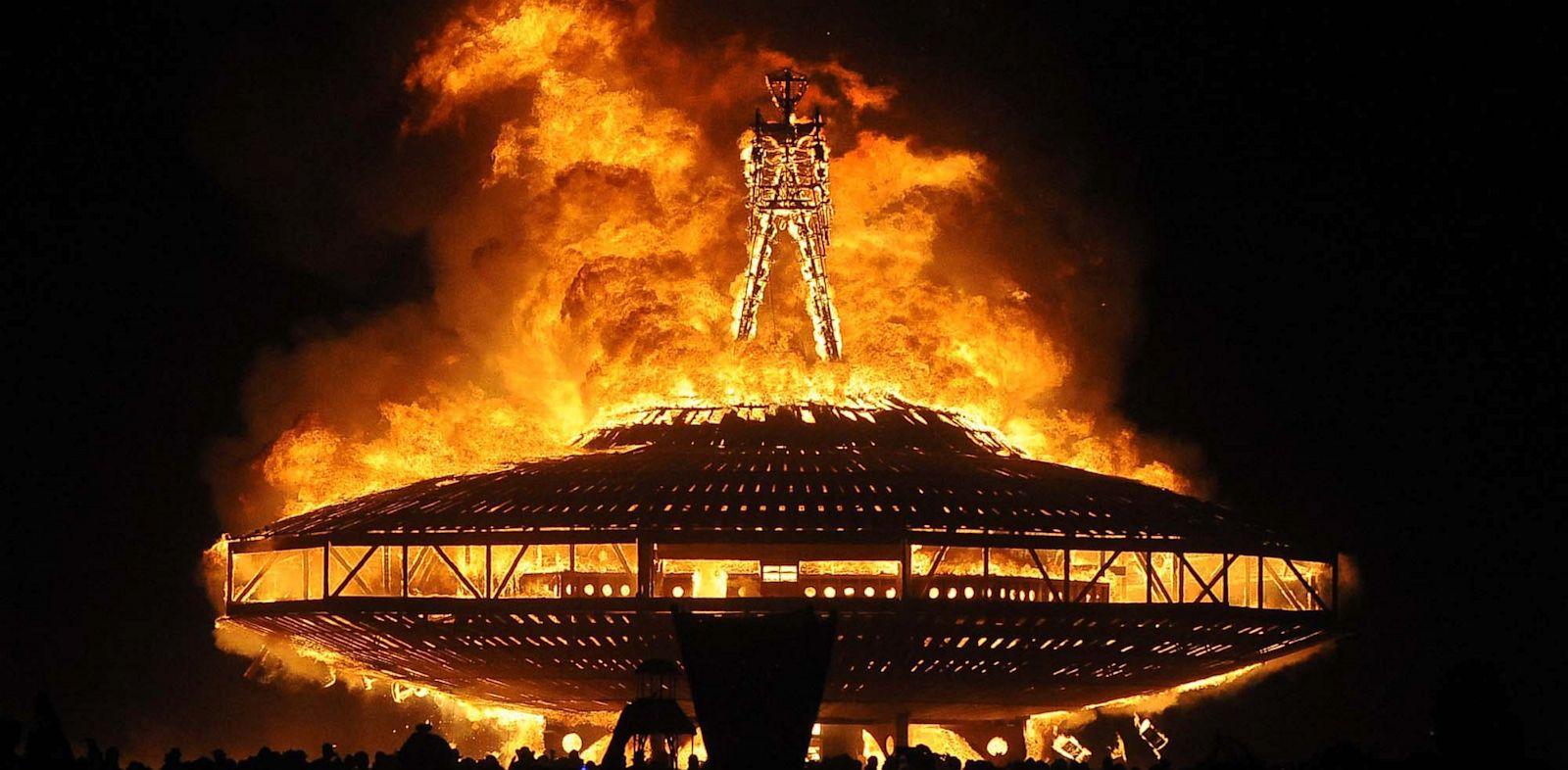 Burning Man. August 31st, 2013. Andy Barron/Reno Gazette-Journal/AP Photo
