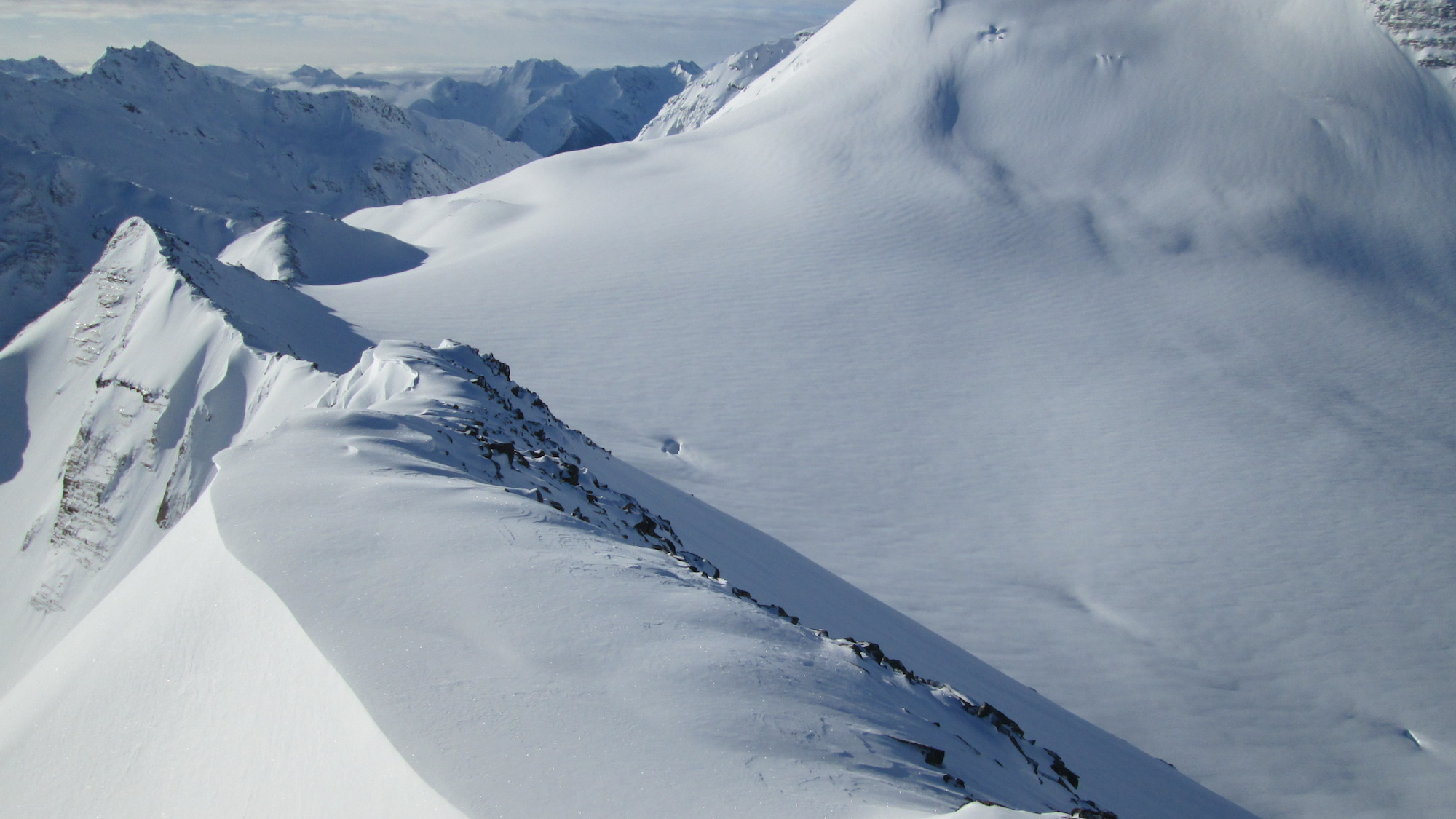 Photo of future ski resort area. image: valemountglaciers.com