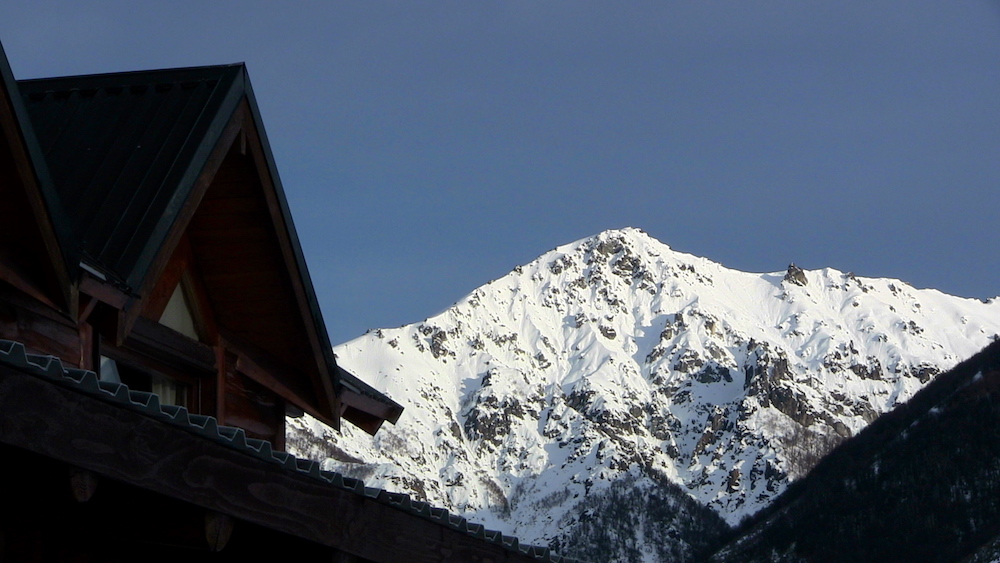 View from the main lodge of Baguales. photo: snowbains
