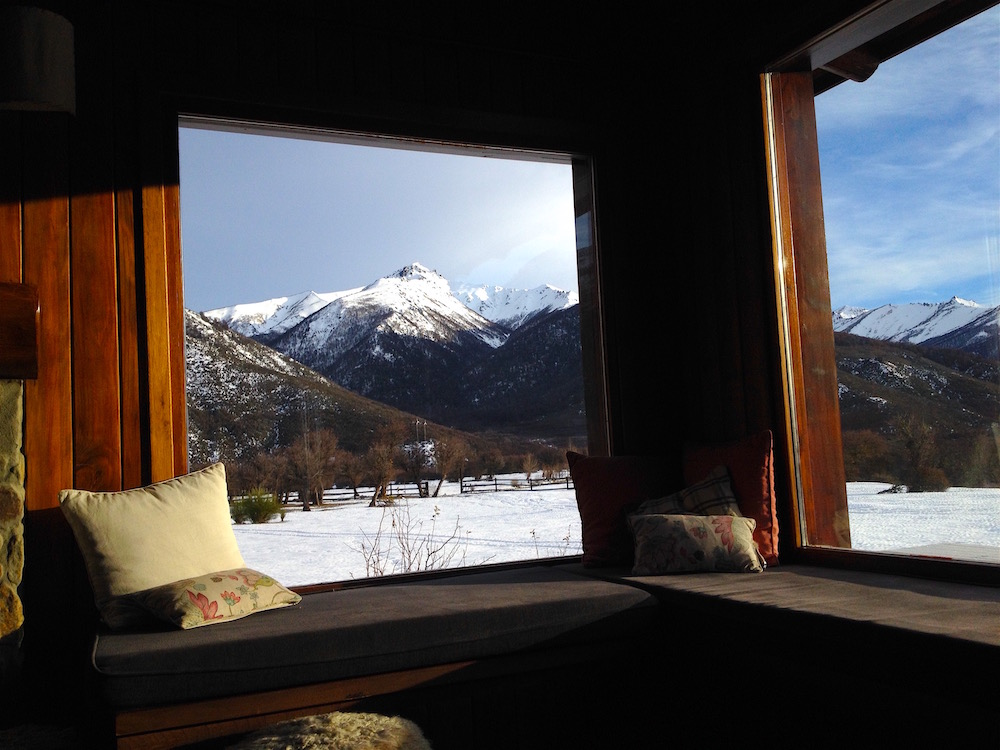 Views from inside the main lodge are unreal. photo: snowbrains