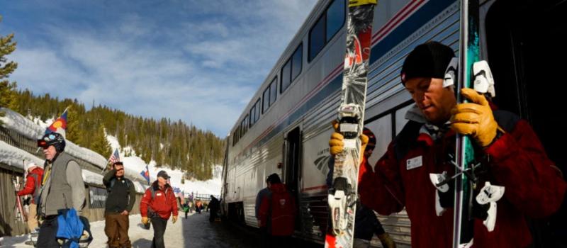 Winter Park - Denver Ski Train in March 2015.  photo:  Helen H. Richardson, The Denver Post