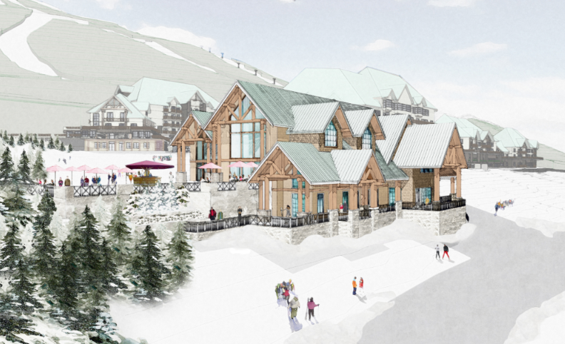 Day lodge in the Valemont plans.