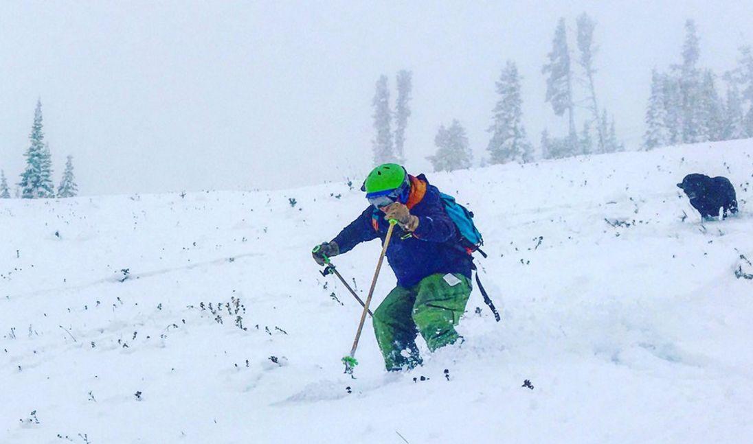 Skiing powder at Showdown Montana yesterday! photo: Curtis Grevenitz