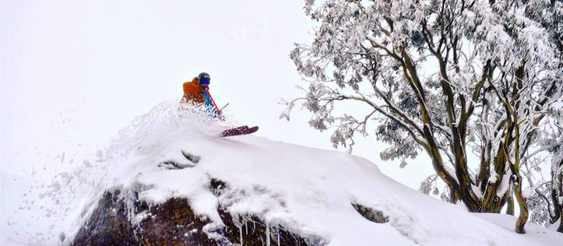 Falls Creek should be looking like this for closing weekend.  Photo by Falls Creek on August 20th.