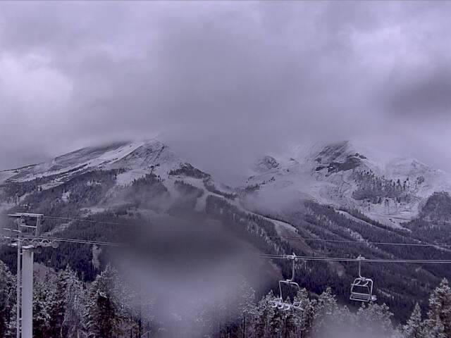 Big Sky, MT yesterday. photo: big sky webcam