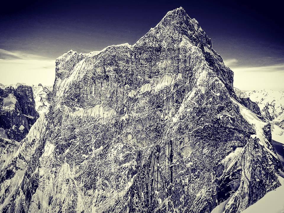 The North Face of Ogre II.  photo:  alpinist magazine
