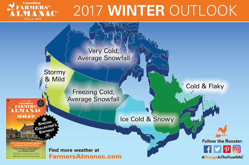 Whistler blackcomb for Farmer s almanac 2017 winter forecast