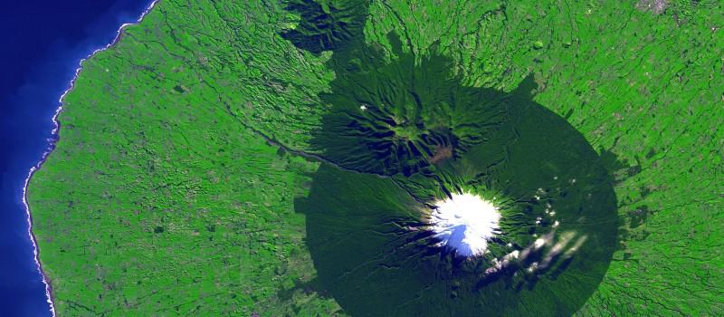 Mt. Taranaki, NZ.