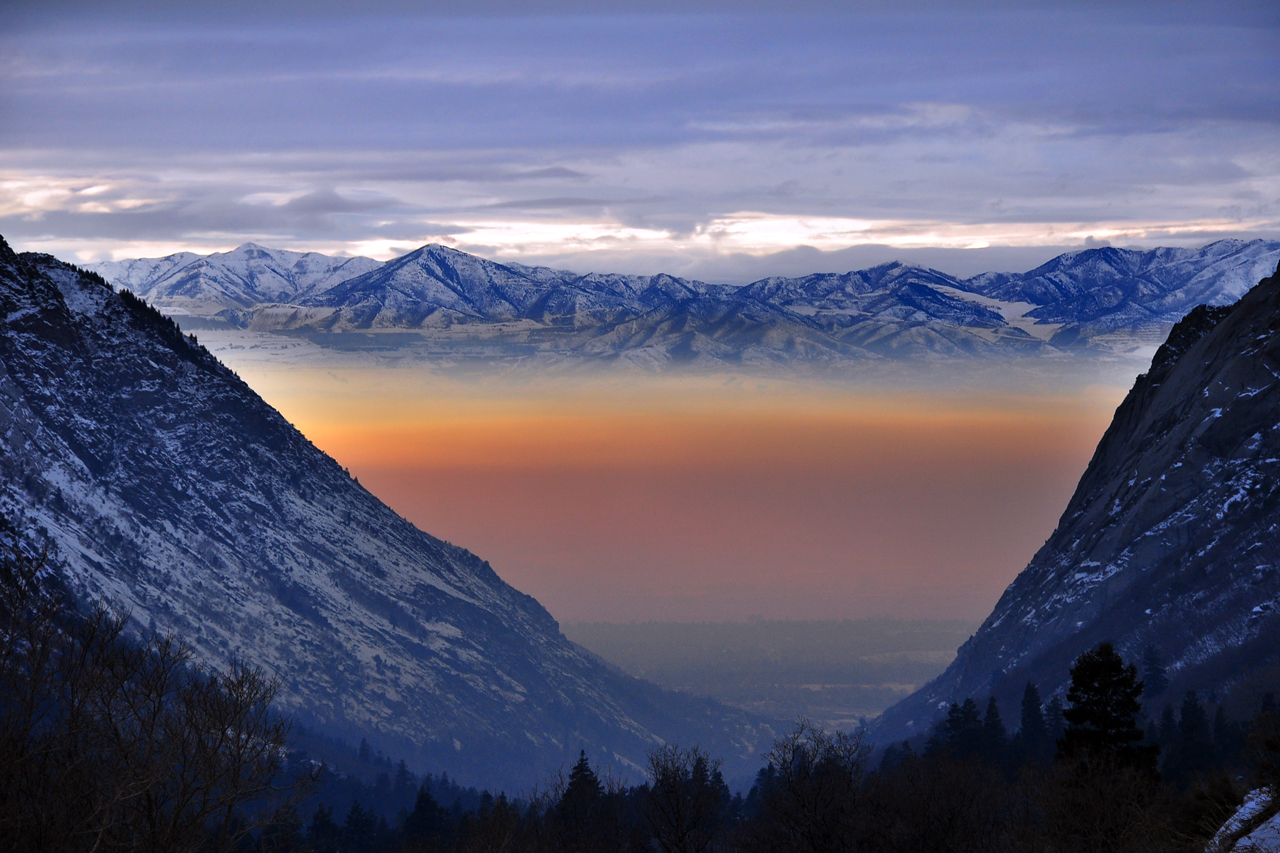 Blanket of Smog Smothering Salt Lake City Credit: Jude Tibway
