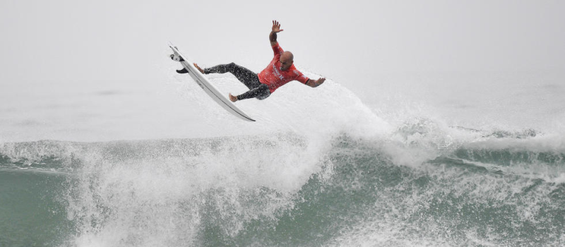 Yes, he landed this!  Kelly Slater.  photo:  WSL/Kirstin Scholtz