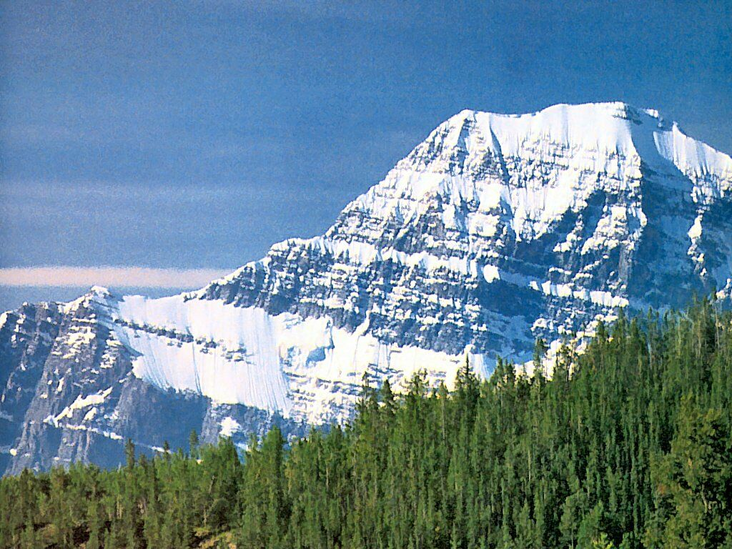 11,033' Mt. Edith Cavell, Canada.