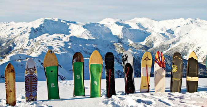 Powsurf Boards Credit: SnowboardCanada.com
