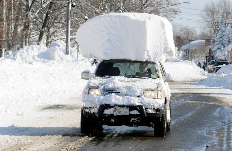 Route 20 in Lancaster, N.Y. Wednesday, Nov. 19, 2014. photo: Gary Wiepert, AP Photo