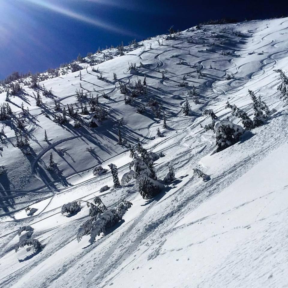 Mt. Rose, NV yesterday. photo: daron rahlves