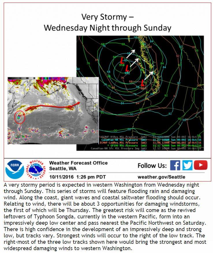 NOAA Atmospheric River To Impact West Coast Tomorrow Up To - Weather seattle noaa