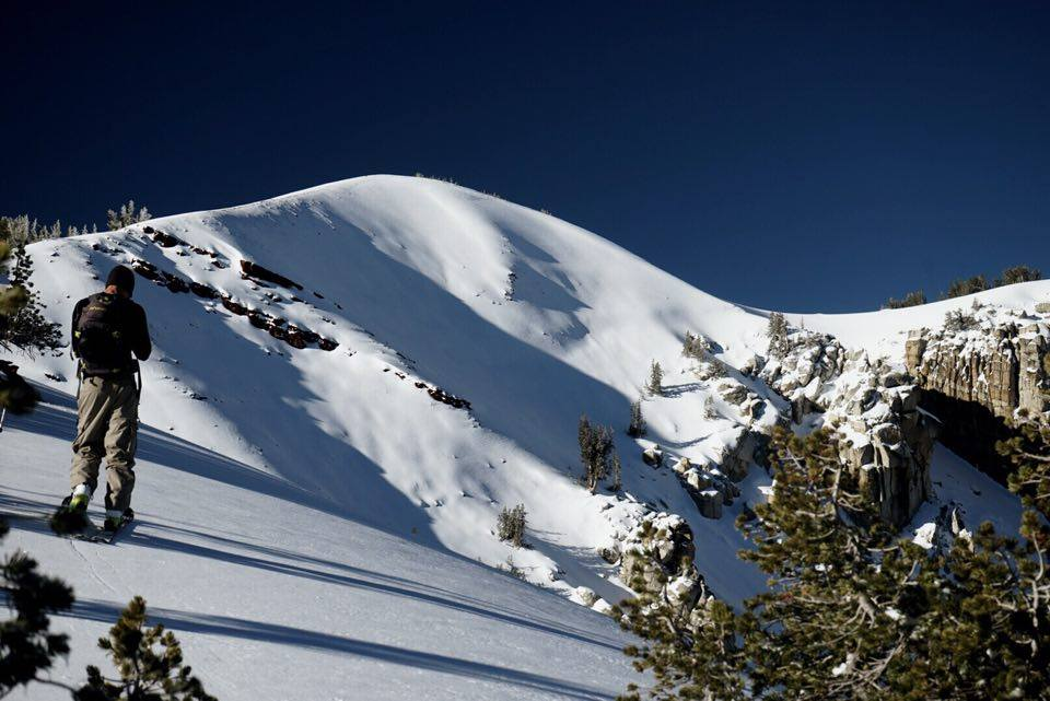 Mammoth Backcountry on Tuesday. photo: Tim Fees & Will Africano