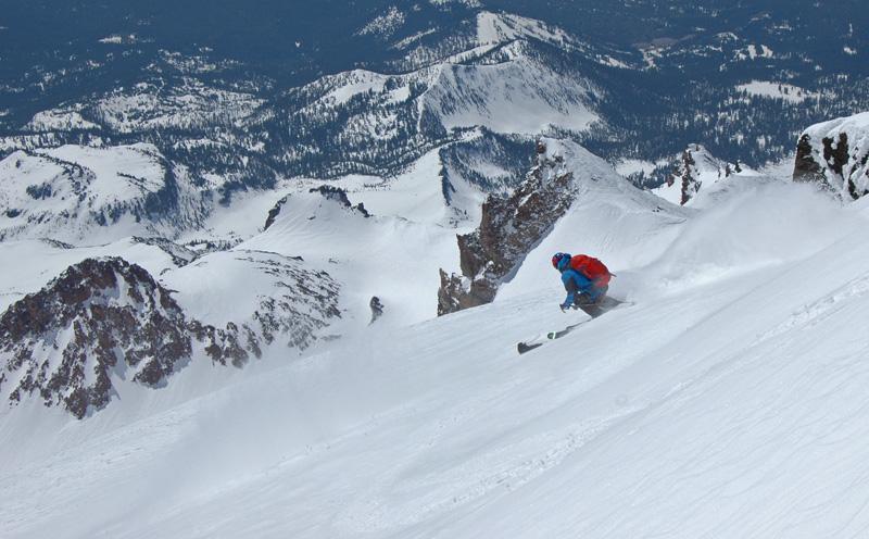 Mt Shasta Ca >> Skiing California's 14ers - SnowBrains