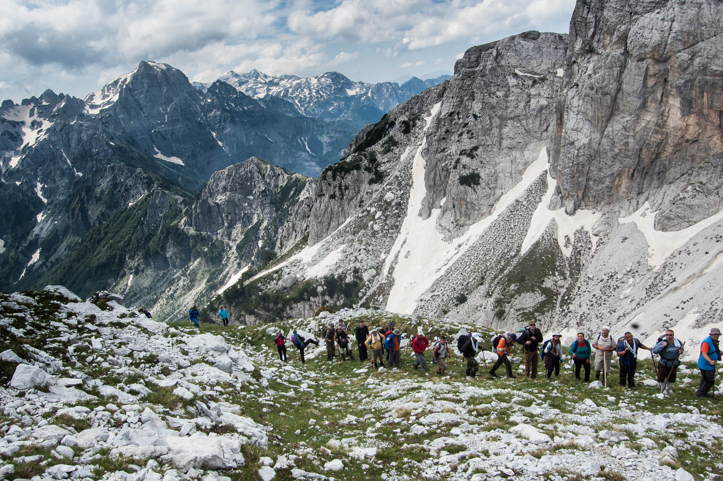 Hiking in the Dinaric Alps