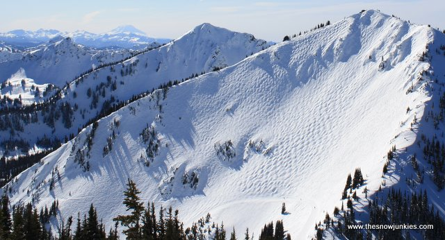 awesome terrain at washington's Crystal Mountain
