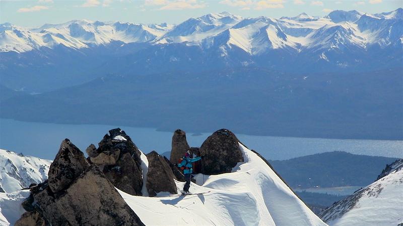 Rylan on top of Alaskita on September 3rd, 2016. photo: miles clark/snowbrains