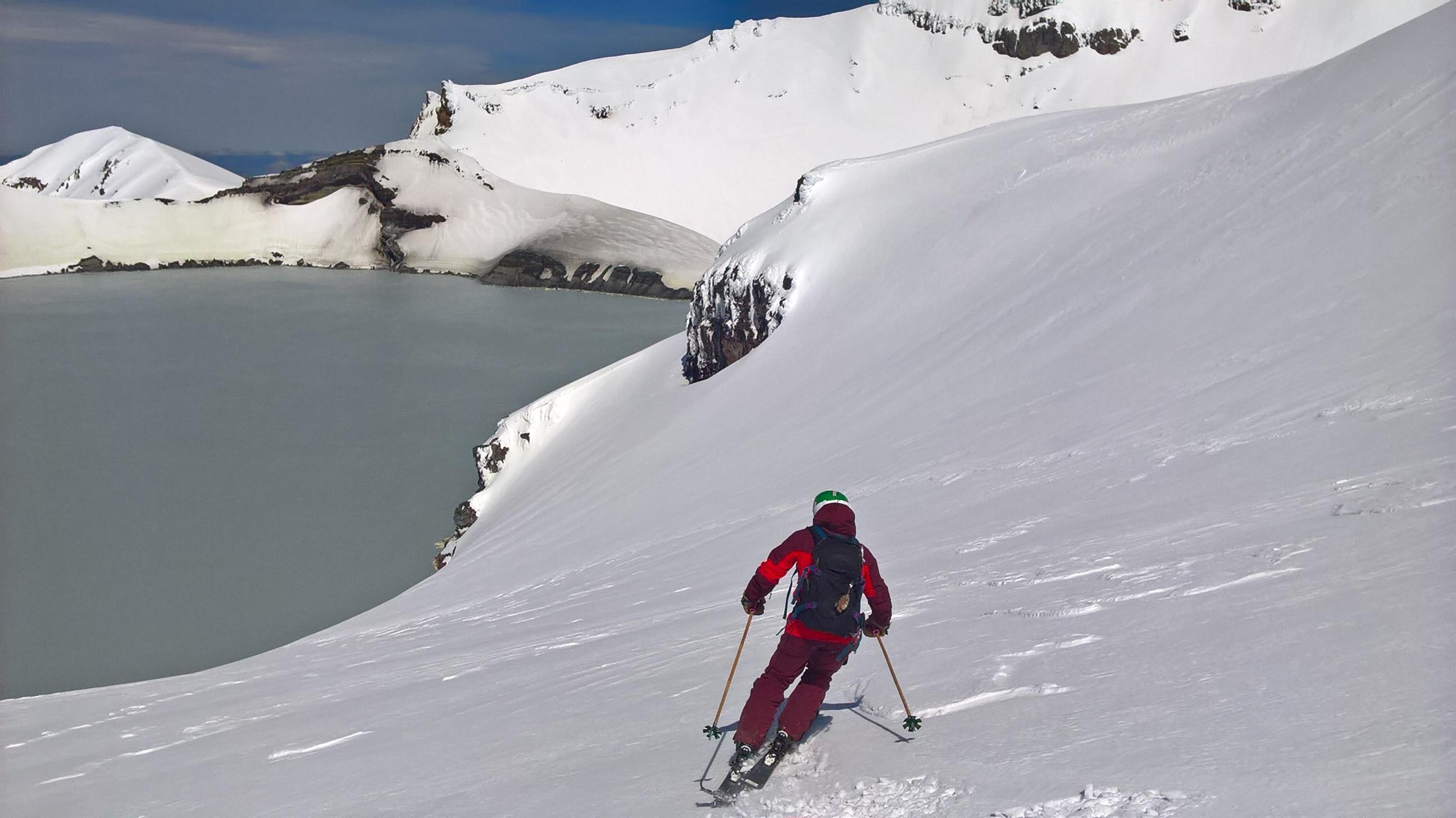 Crater ski