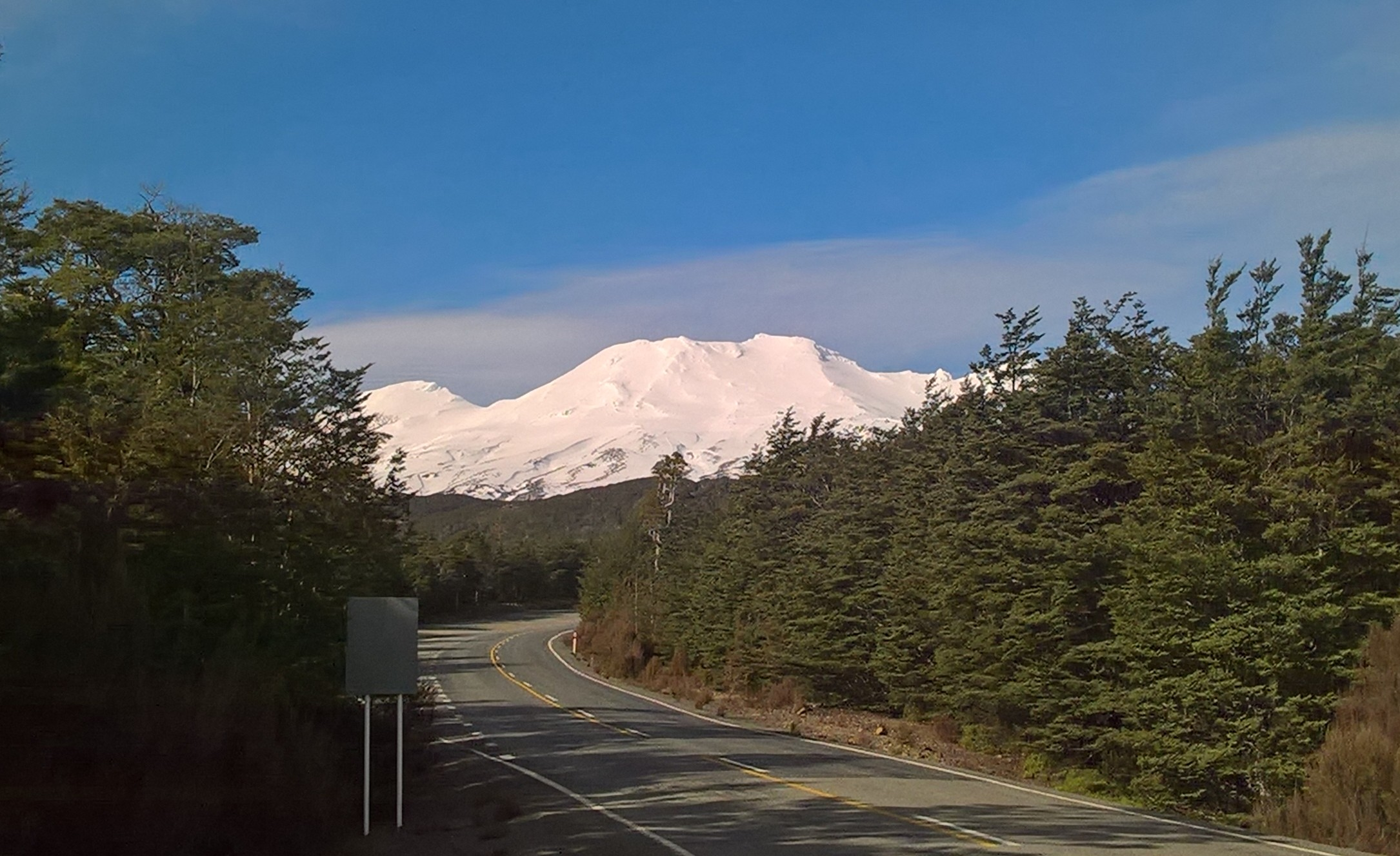 Ruapehu Volcano from a far