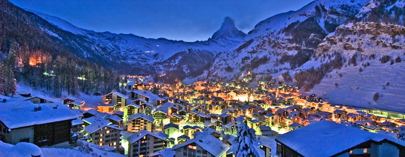 Zermatt, perhaps the most quintessential of all Swiss mountain towns. Photo credit: SwitzerlandInEnglish