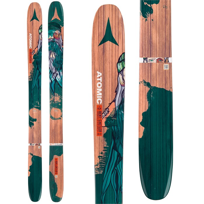 A pair of Atomic's Bent Chetler pow skis will do well in your Japan quiver.