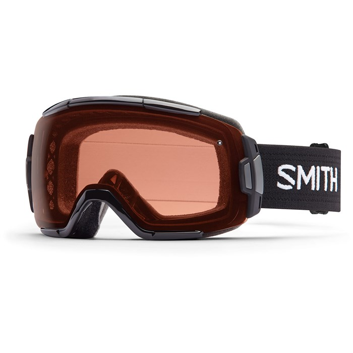 The Smith Vice goggles have easily interchangeable lenses with some great low light options.