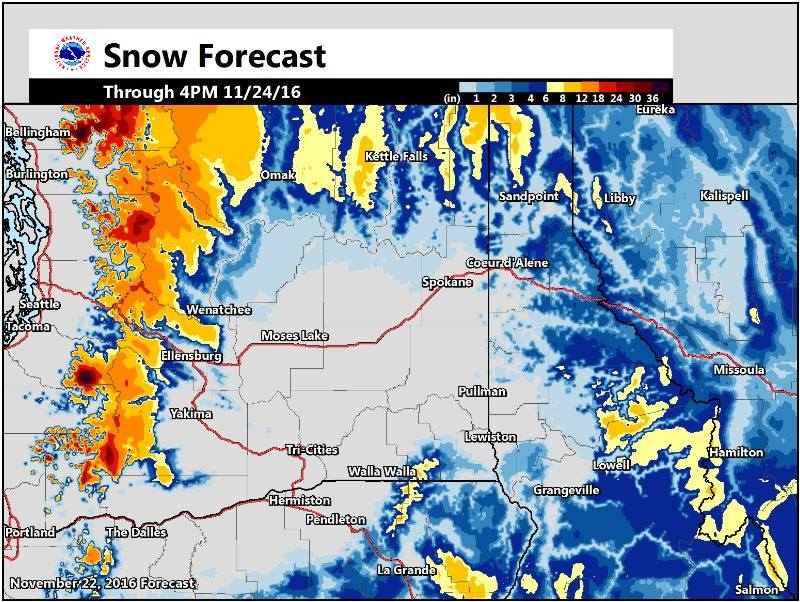 Noaa winter storm watch for washington today tomorrow for Today s fishing forecast