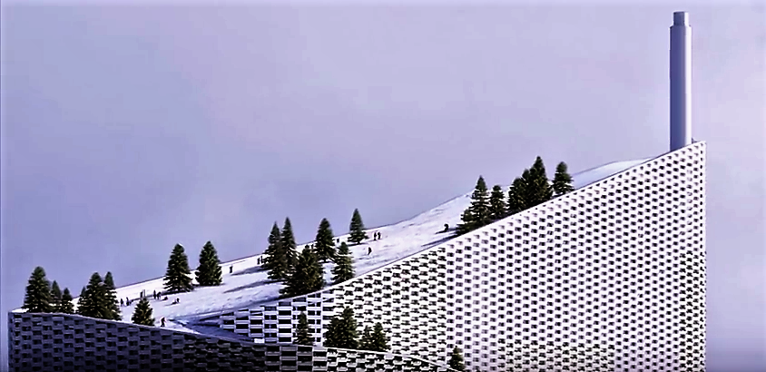This could be the power plant of the future Credit: Bjarke Ingels Group