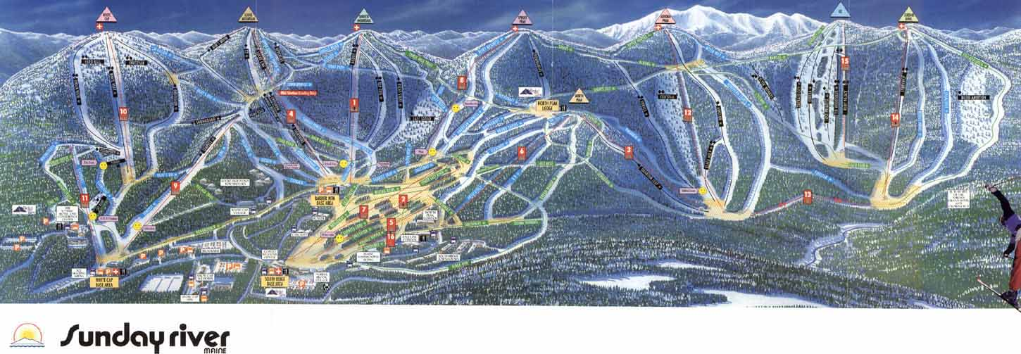 15 Of The Most Popular Ski Resorts In North America Sold