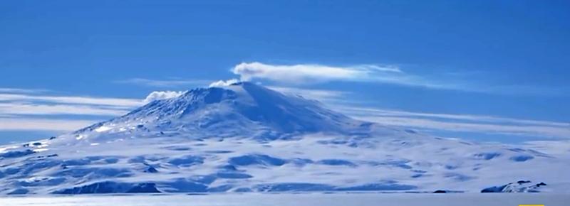 Mt. Erebus Ross Island Antarctica | Continent 7