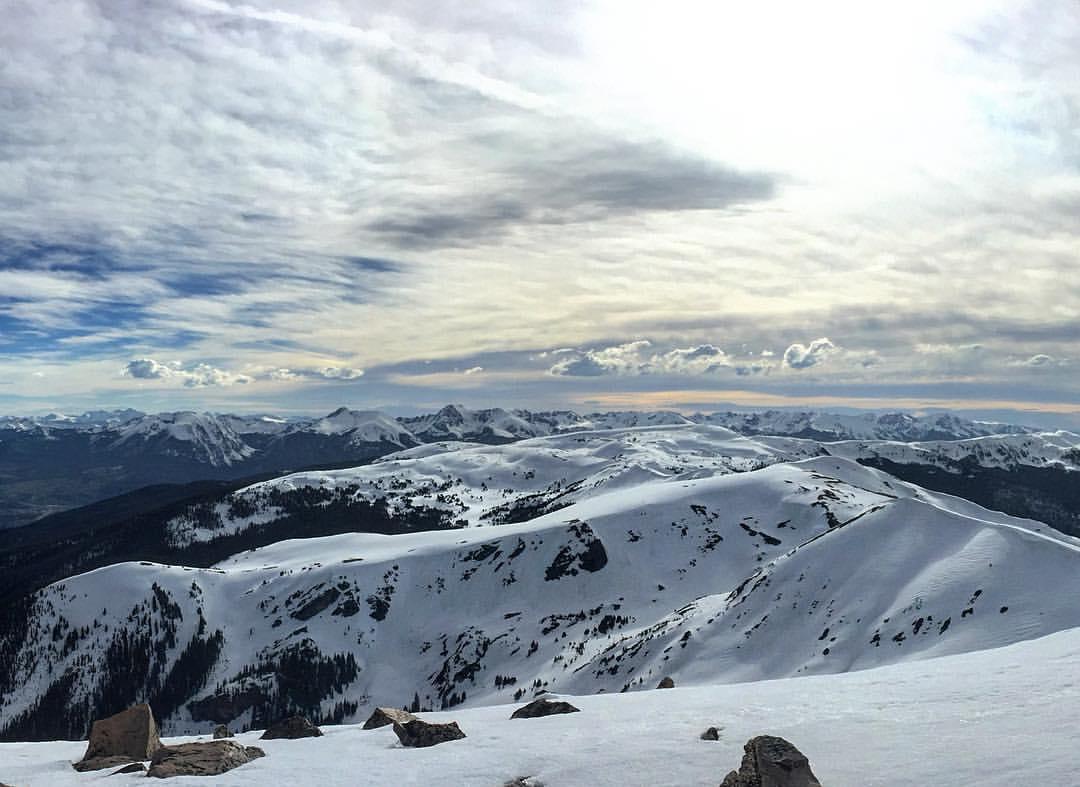 May skiing.