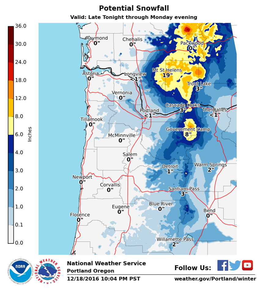 Denver Weather Tomorrow: Avalanche & Snowfall Warnings In Washington & Oregon Today