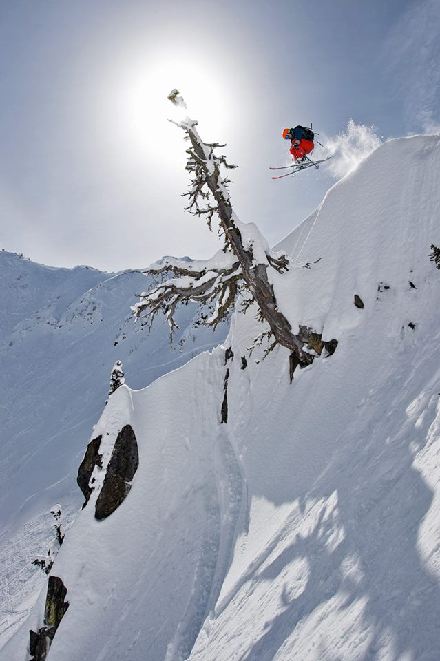 Adam Roberts hucking. image: Scott Rinckenberger