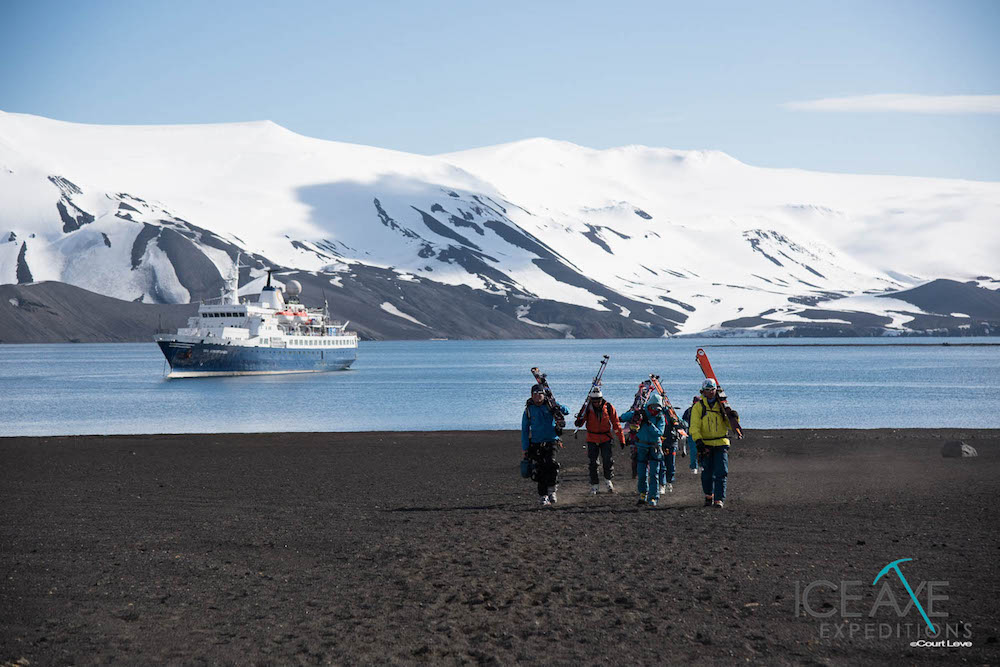 Deception Island. image: Court Leve/Ice Axe Expeditions