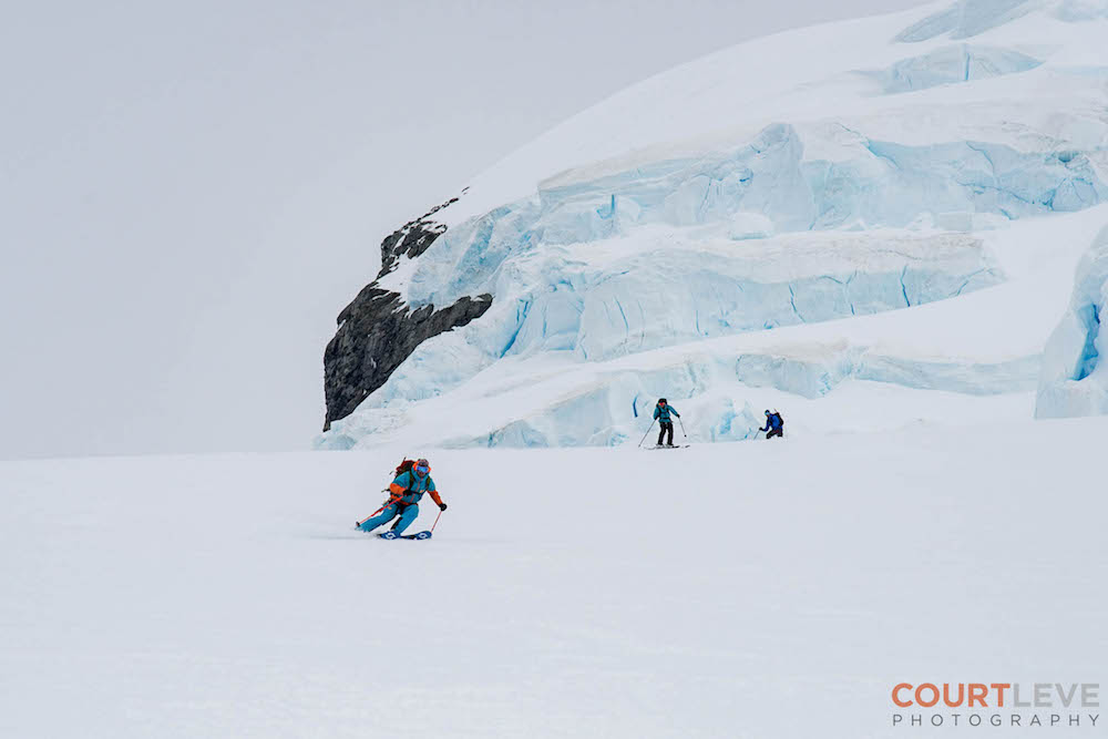Miles Clark. image: Court Leve/Ice Axe Expeditions