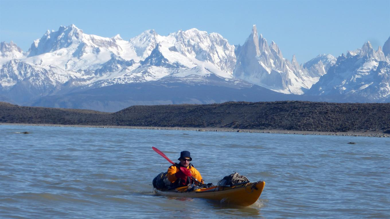Crossing the Patagonian Ice Field in a kayak is not a common adventure.