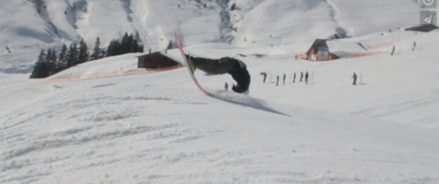 Faceplant on skis