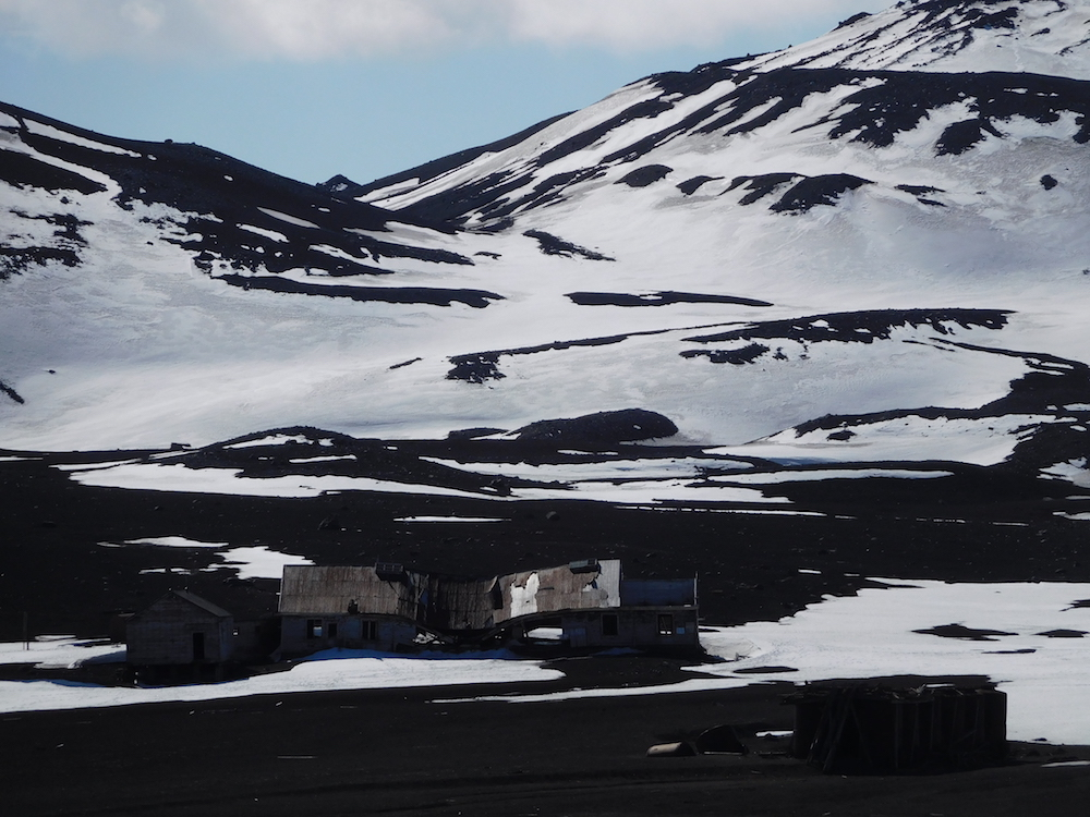 Deception island whaling station. image: miles clark