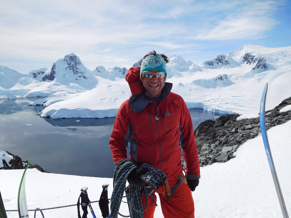 Mountain guide Jorge. image: miles clark