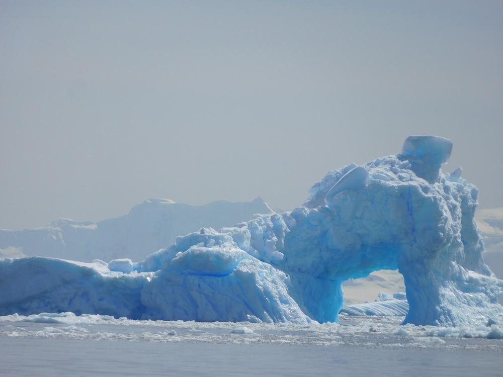 Iceberg archway. image: miles clark