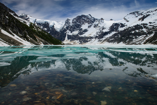 Lake of the Hanging Glacier, on the backside of the proposed development. PC: CVTrails.