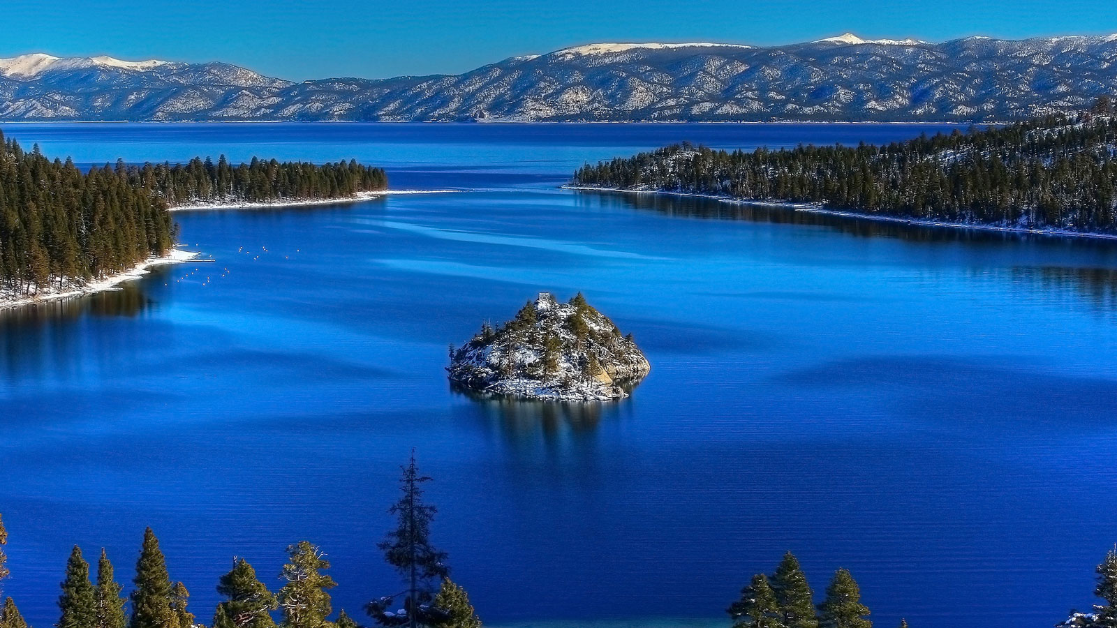 lake tahoe just gained 87billion gallons of water in 2