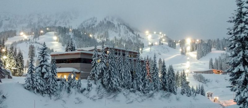 Stevens Pass Montain Resort on Tuesday. Image: Stevens Pass Mountain Resort Facebook Page