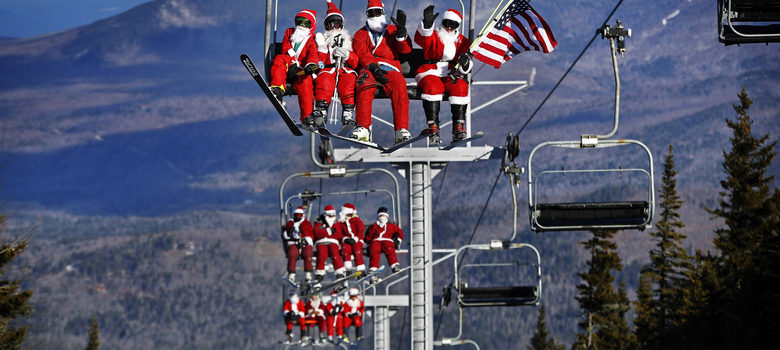 18th Annual Santa Sunday Charity Event at Sunday River -  Credit: Associated Press