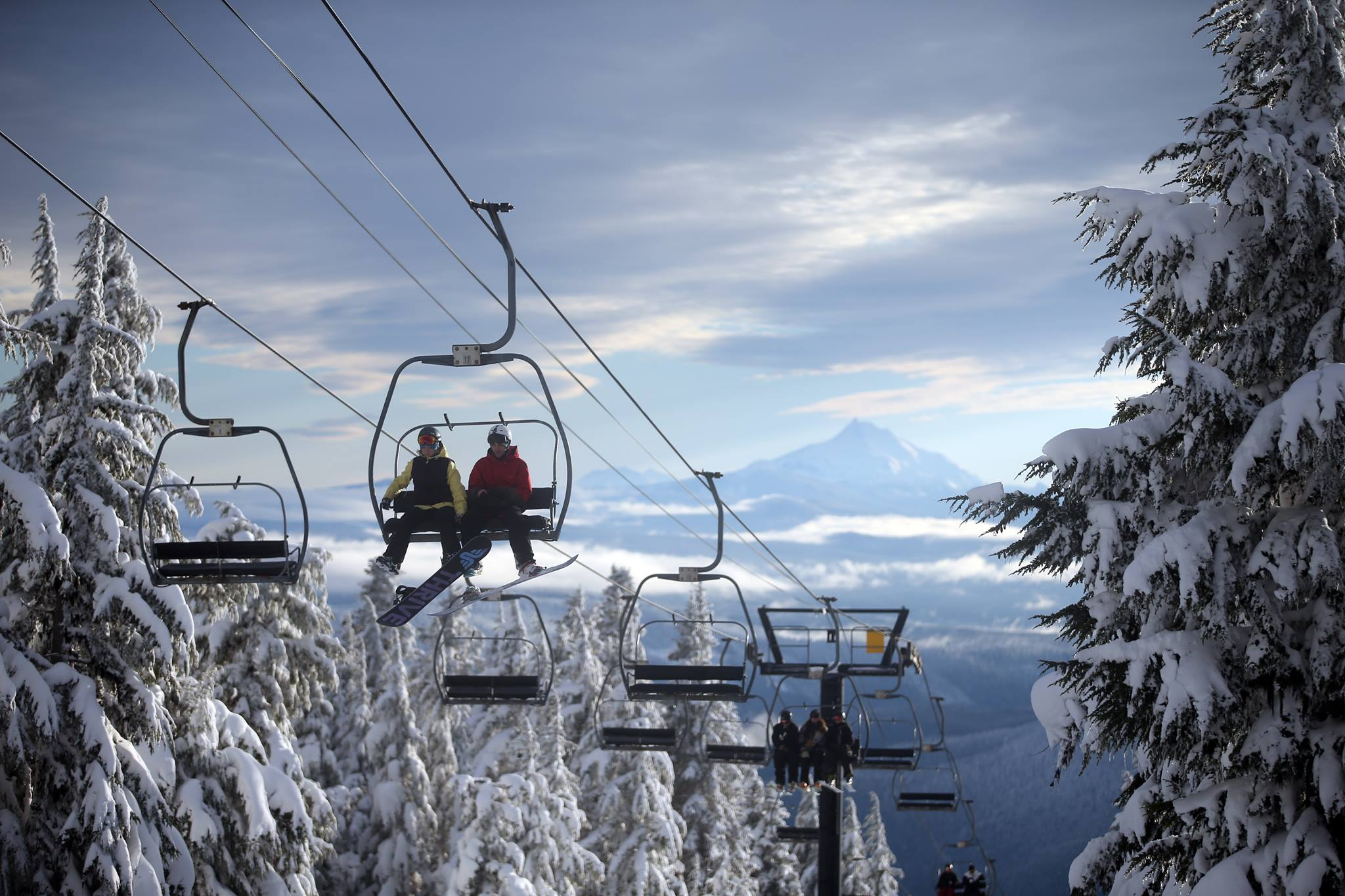 Deep snow at Timberline on 11/30/16. Image: The Oregonian