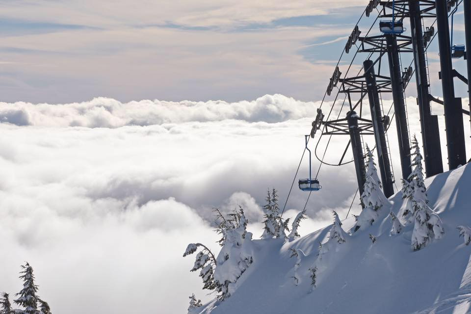 Beautiful winter scene at Mt. Hood Meadows. PC: